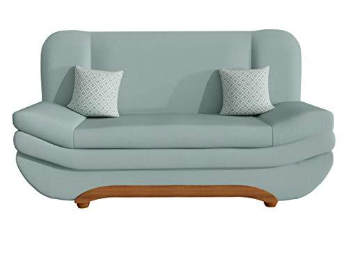 Mirjan24   Sofa Weronika Evo mit Bettkasten und Schlaffunktion, Schlafsofa, Farbauswahl, Couch vom Hersteller, Wohnlandschaft