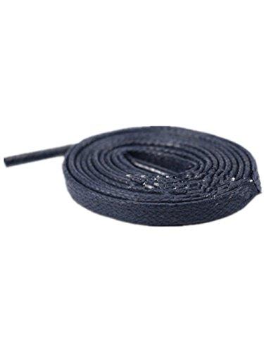 Boowhol gewachst reißfest Flache Schnürsenkel Shoelaces für Kinder und Erwachsene,0,6CM, Verschiedene Farben und Längen