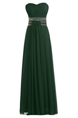 Sunvary -  Vestito  - Donna verde oscuro