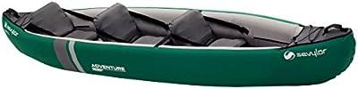 Sevylor Canoa Adventure Plus (2 + 1 P) - Sevylor Adventure Plus (2 + 1 P) - Canoa, color verde, talla No