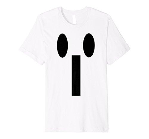 Halloween Emoji-passende Kostüm Tshirt Gelb OMG Face