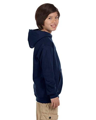 Champion Men's Double Dry Eco Pullover Hood Blu navy