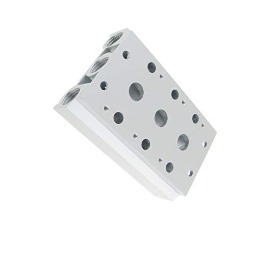 Aexit Aluminium 3-reihig, Pilot Stationen KRÜMMER Magnet-Basis -
