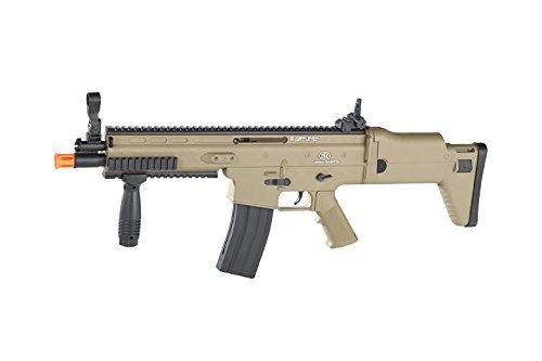 AIRSOFT Cybergun FN Scar L tan ABS Feder Spring (0,5Joule) -
