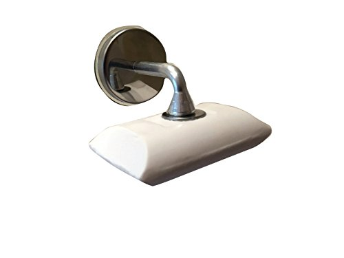 Magnetic Soap Holder - Stainless steel and Aluminium - Suction Cup Fixing for Easy Installation - No drilling!