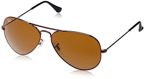 Ray-Ban Aviator Sunglasses (Brown) (RB3025 R107258)