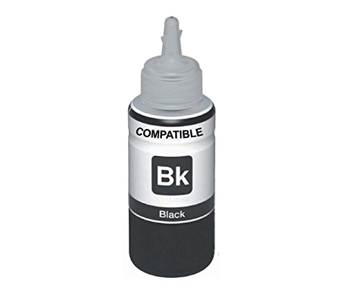 EPSON (100ML)INK BOTTLE FOR EPSON L100/L110/L200/L210/L220/L300/L350/L355/L365/L550/L565 (BLACK)(Compatible)  available at amazon for Rs.200