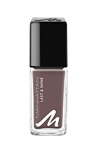 Manhattan Last & Shine Nagellack, Nr.490, Dark Chocolate 1er Pack(1 x 10 milliliters)