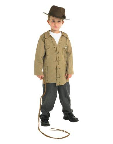 Indiana Jones Costume, Kids Indiana Jones Costume Kit Picture