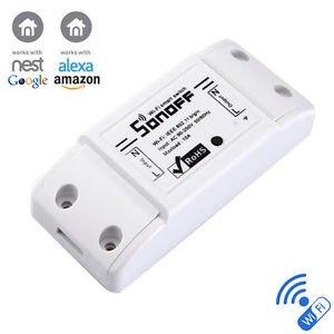Open Buy Smart Switch intelligente Fernbedienung, WLAN, kabellos verbinden Sie Ihr Zuhause von überall auf der Welt mit Ihrem Smartphone von Apple und Android, Heizung, Lichter, Sensoren, Klimaanlage, Alarm, Diebe abschrecken, Energieeinsparungen (Sensor-licht-alarm -)