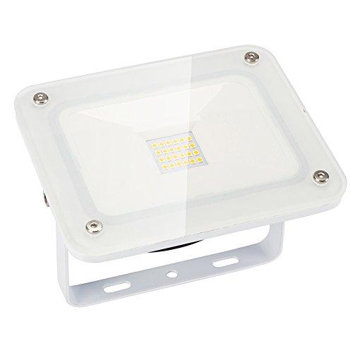 MAXINDA Faretto da Esterno IP65 a LED 20W Faro a Luce Bianca Floodlight Proiettore Esterno Impermeabile per Illuminazione e Abbellimento in Casa, Giardino, Hotel, Paesaggio