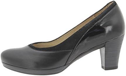 PieSanto Calzado Mujer Confort de Piel 9311 Zapato Salón Cómodo Ancho