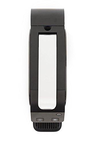 Peak Coffee Black Nespresso Compatible Hot Drinks Pod Capsule Coffee Machine + Now Includes 50 Fairtrade Capsule Pack
