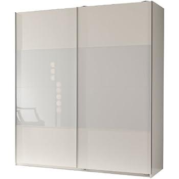 kleiderschrank schwebet renschrank ca 200cm inkl 9 einlegeb den wei spiegel. Black Bedroom Furniture Sets. Home Design Ideas