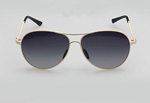 SHULING Sonnenbrille Frau Sonnenbrille Neue Stilvolle Polarisierte Brille Fahren Minimalistischen Big Box Retro Sonnenbrille, Elfenbein (Spiegel Oval Elfenbein)