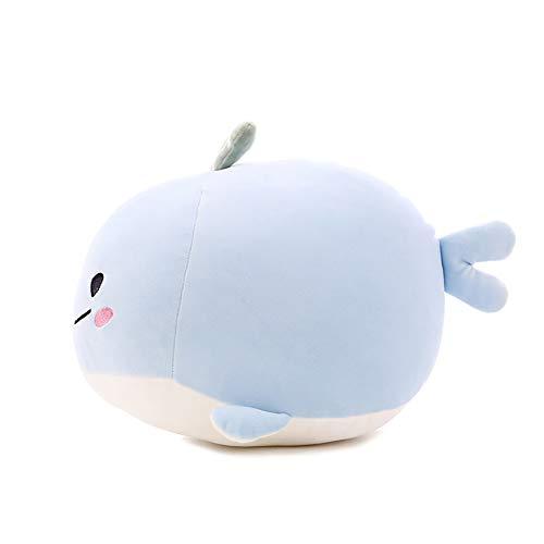 Plüschspielzeug Süß Wal Kissen Puppe Kreativmodell Wal-Baby Puppe Geburtstagsgeschenk,60CM