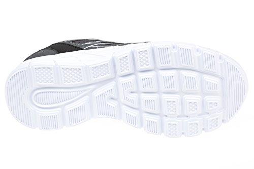 GIBRA® Sportschuhe, sehr leicht und bequem, dunkelgrau/weiß, Gr. 36-41 Anthrazit