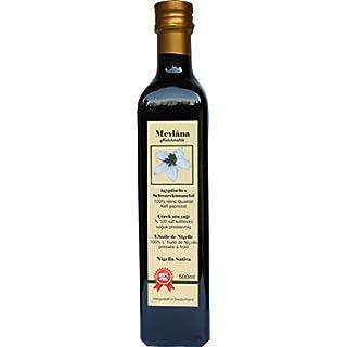 Mevlâna 100% Naturreines Ägyptisches Schwarzkümmelöl 500 ml, UNGEFILTERT, EIGENE HERSTELLUNG
