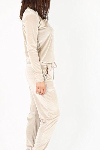 Mesdames Velour Loungewear fixé Sweatshirt et semelles EUR Taille 36-42 Pierre