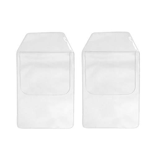 Einfache Pocket-hose (Toyvian 8pcs Hemdtaschenschutz PVC-Hochleistungstaschenschutz für Hemdlaborkittelhosenschulkrankenhaus-Bürozubehöre)