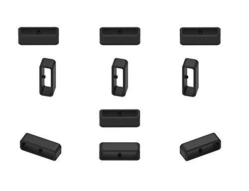 Ruentech Ersatzring Kompatibel mit Polar Vantage M Gps Smartwatch Connector Sicherheitsband Schließe Keeper 10 Stück -