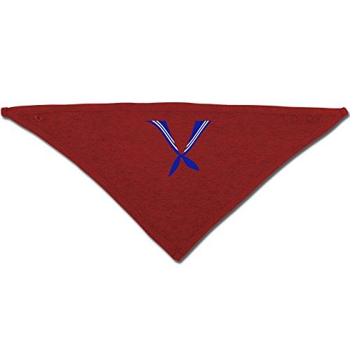 Anlässe Baby - Matrose Kostüm Tuch - Unisize - Rot - BZ23 - Baby-Halstuch als Geschenk-Idee für Mädchen und Jungen