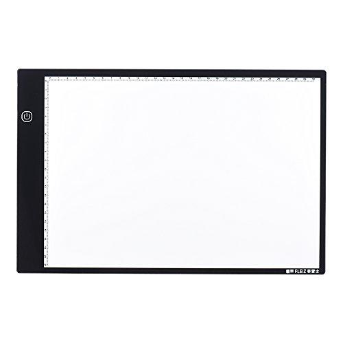 Tattoo-transport-box (aibecy fleiz A4LED Panel Beleuchtung Notebook, Zeichnung Kopie Tablet mit Memory-Funktion, Kontrolle von Helligkeit ohne Veränderung für Animation von Künstlern, Dekoration Architektur Kalligraphie)