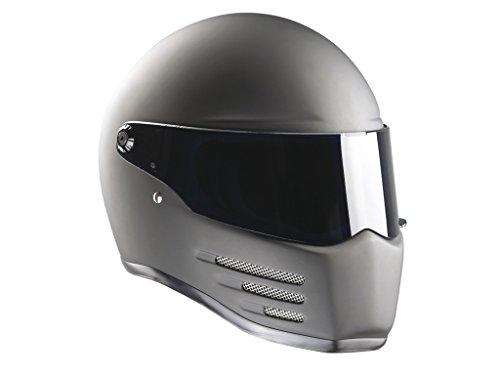 Bandit Helmets Fighter ECE 22-05, Sports-Farbe:dull black;Größe:XL(61/62) -