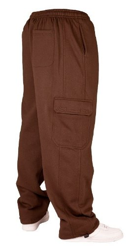 Urban Classics Cargo Sweat Pants TB031 Marrone - marrone