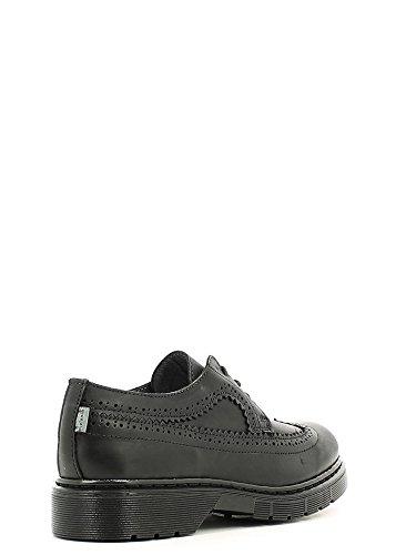 Melania , Chaussures de ville à lacets pour fille Noir