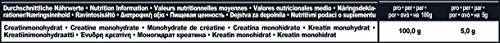 IronMaxx Creatine Monohydrat-Pulver, Neutral, 300g Beutel
