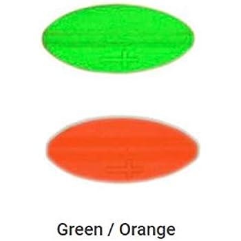 Praesten UL Durchlaufblinker aus Dänemark in 7 gr. Farbe chartreuse//orange