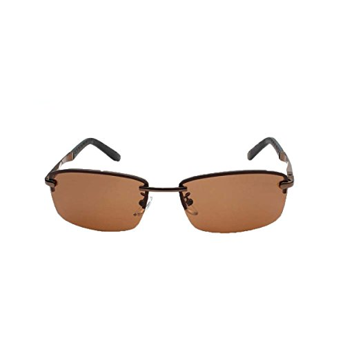 New Men's Box Metal Trend Polarized Sunglasses Multicolor Optional