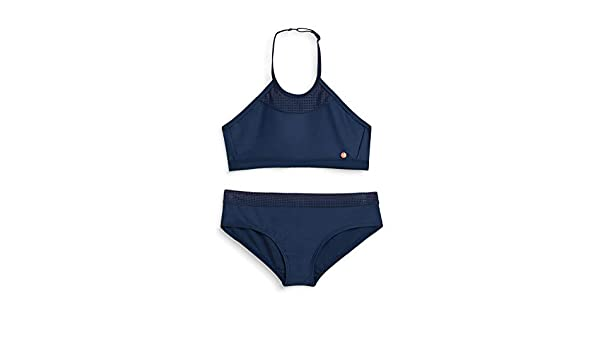 ESPRIT Ruby Beach YG American Neckho Set Costume da Bagno Bambina