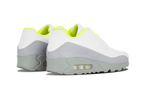 Nike - Wmns Air Max 90 Sp / Sacai, Scarpe sportive Donna Blanco (White / White-Wolf Grey-Volt)