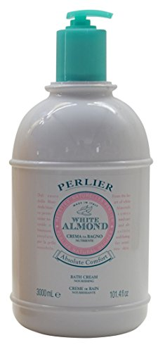 White Almond Bath (Perlier White Almond Absolute Comfort Bath Cream 101.4 Oz Huge 3 Liter with Pump by Perlier)