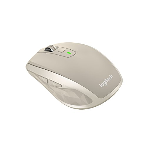 Logitech  MX Anywhere 2 Wireless Maus (für Windows/Mac, Bluetooth, Unifying) stone