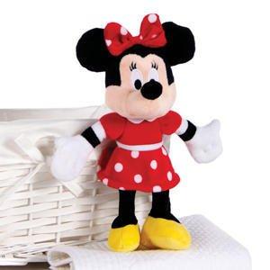 Giocattolo di peluche del vestito rosso di carattere disney minnie mouse licenziato ufficialmente