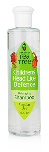 Escenti Childrens Tea Tree Head Lice Repellent Shampoo