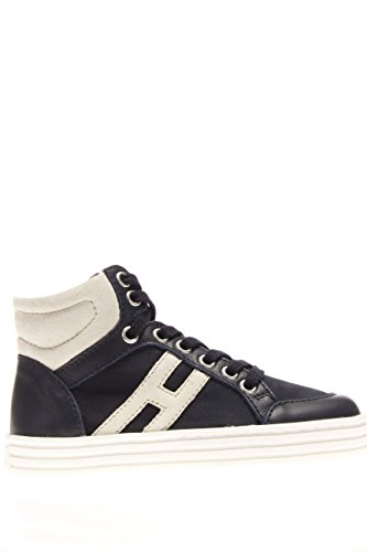 Hogan Rebel Junior Kinder Sneaker hxc141072838gb2at0Sneaker High Blau