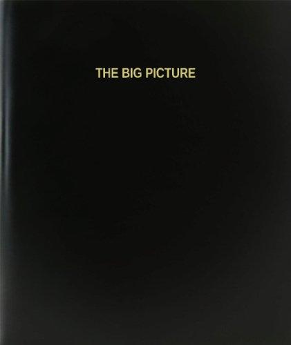 """BookFactory® El gran imagen libro de registro/diario/diario página–120, 8,5""""x11,"""" negro Hardbound (xlog-120–7cs-a-l-black (la gran imagen libro de registro))"""