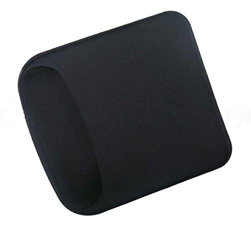 Coohole Gel Handgelenkauflage Spiel Mauspad Antislip Pad für Computer PC Laptop, Unisex, Schwarz 1, A (Samsung Ultraslim Notebook)