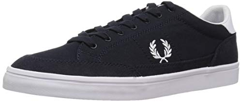 Fred Perry Deuce Canvas Navy B3118608, Turnschuhe - 42 EU -