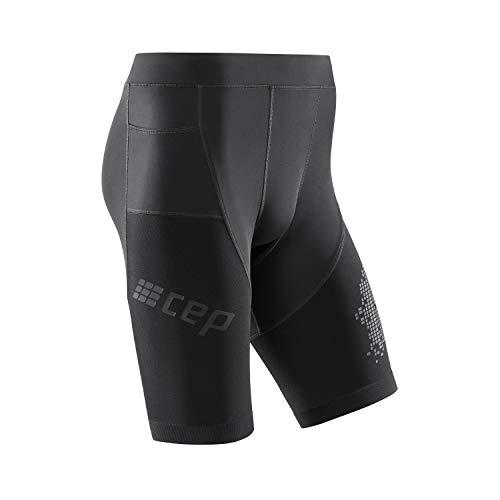 CEP - Run Shorts 3.0 für Herren | Laufshorts mit milimetergenauer Kompression in schwarz | Größe II