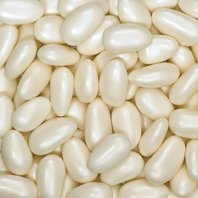 CLUB GREEN Pearlised Sugared Almond, Ivory