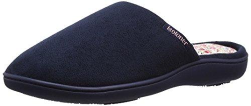 isotoner-isotoner-suedette-mule-slippers-chaussons-mules-mules-femme-bleu-marine-38-uk-5
