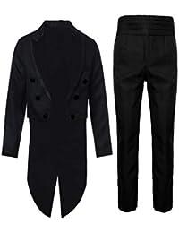 JYJM 2018 Männer Druck Mantel Frack Jacke Gothic Gehrock Uniform Kostüm  Party Oberbekleidung Lammfell Herren Strickjacke Blazer… EUR 15,62 · Decha  Herren 2 ... 20d0c07a9f