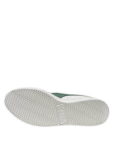 Diadora Game L Low Waxed, Sneaker a Collo Basso Unisex – Adulto White