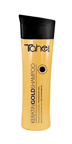 Champú de keratina de Tahe Botanic–Gold Shampoo, 300ml