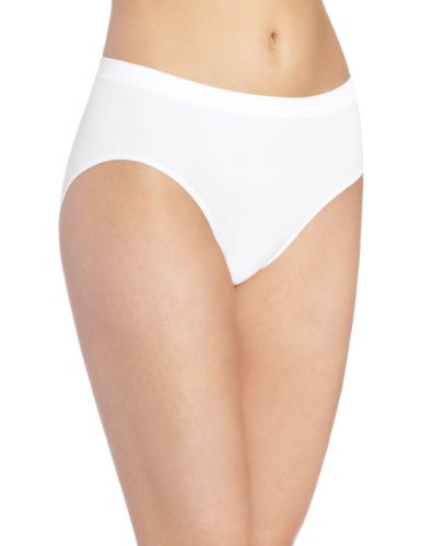 3104ZWBjgCL - Bali womens2990Microfiber Hipster Short Sleeve Hipster Panties - White - 8/9 UK